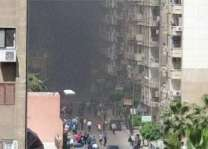 One dead in blast near security convoy in Egypt's Alexandria: govt