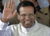 سری لنکا دے صدر متھری پالا سری سینا پاکستان دا ترائے ڈینھاںدا دورہ مکمل کرنڑ دے بعد ہفتہ کوں واپس روانہ تھی گئے