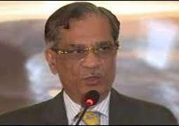 Submitting false documents in court a crime: Chief Justice of Pakistan Justice Mian Saqib Nisar