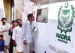 NADRA vans schedule for Sukkur announced