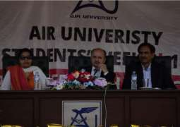 Students' Week 2018 concludes at Air University