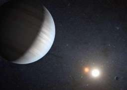 Astronomers detect large amount of water in exoplanet's atmosphere