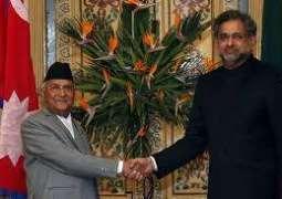 Nepalese, Pakistan Shahid Khaqan Abbasi agree to revitalize SAARC Summit;