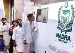 NADRA vans' patrolling continue in Sukkur