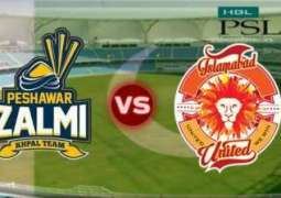 Peshawar Zalmi to face Islamabad United in Dubai - Live updates