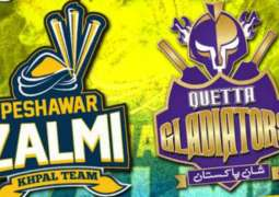 PSL 2018: Peshawar Zalmi is about to face Quetta Gladiators in 23rd Match of the Tournament held today In Dubai at 9:00 PST.