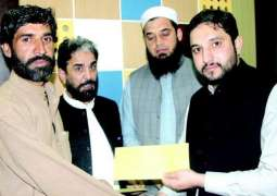 Compensation cheques distributed among heirs of martyred levies