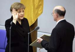 Merkel takes oath of office for fourth term