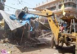 RCB seals 50 properties of tax defaulters; confiscates five truckload goods of encroachers