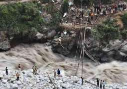 Flash floods cut off key road again in southwest Kenya