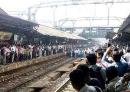 Protest brings train services in Mumbai to halt