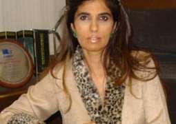 Sindh govt. aspires to excel women in all sectors: Naheed Memon