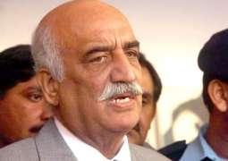 جوڈیشل مارشل لاءغیر آئینی، کوئی جمہوری بندہ مارشل لاءدی گالھ نئیں کرسگدا، سید خورشید احمد شاہ