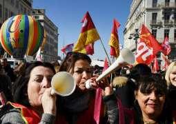 Macron reforms unleash mass strikes, protests