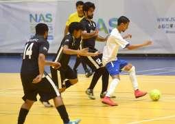 Dubai Police cruise through NAS Futsal qualifying