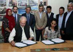 PPAF and UNHCR sign a Project Partnership Agreement to launch the Poverty Graduation Pilot for Afghan Refugees