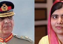 Malala reveals Gen Kiyani's role in sending her abroad