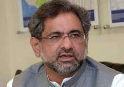 Prime Minister Shahid Khaqan Abbasi urges people to vote for PML-N to end corrupt practices