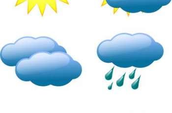 محکمہ موسمیات دے مطابق آندے 24گھنٹے دے دوران ملک اچ موسم رکھا رہ ویسی