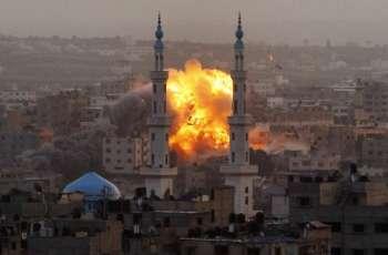 اسرائیل دا غزہ دے مشرق اچ فضائی حملہ