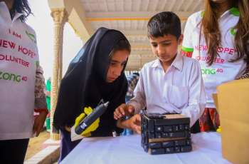 Zong 4G's Recycling Initiatives Help the Underprivileged