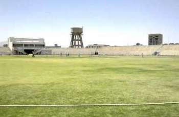 Renovation of Ayub Stadium Quetta underway to host national games