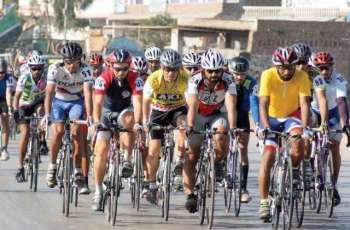 International cyclist Mohsin wins Pakistan Day Cycling Race