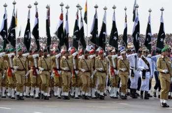 فرقة من القوات المسلحة لدولة الإمارات العربية المتحدة ستشارك في العرض العسكري بمناسبة يوم باكستان غداً يوم الجمعة