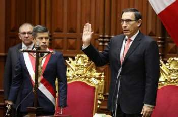 Peru's new president sworn in after impeachment drama