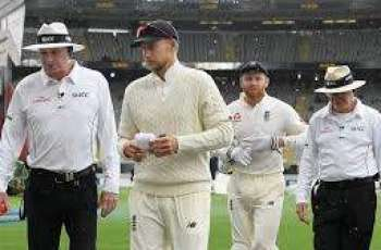 Rain frustrates high-flying New Zealand in 1st England Test