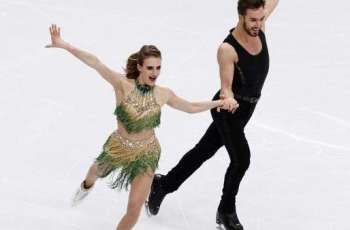 French ice dancers Papadakis, Cizeron win third world title