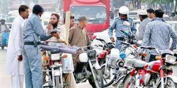 Rawalpindi City Traffic Police (CTP) issues 59,344 challan slips in Feb
