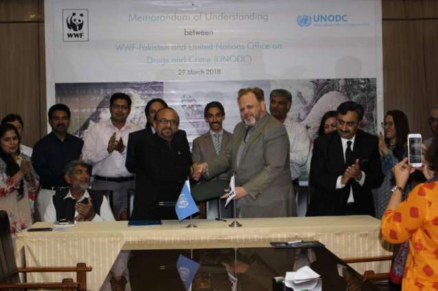 WWF-Pakistan and UNODC Sign MoU to Check Illegal Wildlife Trade