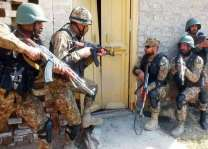 Security forces arrest terrorists from KP, FATA, Balochistan