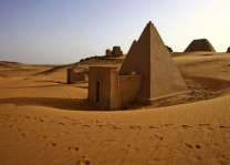 Sudan unearths bones from pyramid for DNA testing
