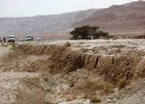 Two dead as floods hit Israel, West Bank