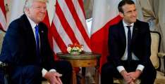Macron suggests Syria should be involved in proposed negotiation of new deal on Iran
