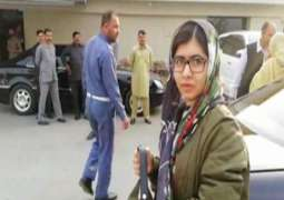 Malala flies back to UK after wrapping up Pakistan visit