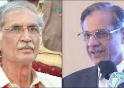 'Have heard a lot about PTI's good governance': Chief Justice of Pakistan Justice Saqib Nisar  summons Chief Minister Pervez Khattak