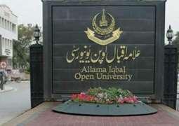 Allama Iqbal Open University starts books' mailing process