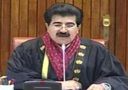 Shaikh Ali Abdullah calls on Chairman Senate