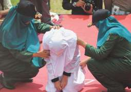 Couples, sex workers whipped in Indonesia's Aceh for breaking Islamic law