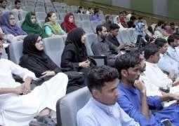 Graduate Seminar on Water Treatment held at USPCAS-W MUET