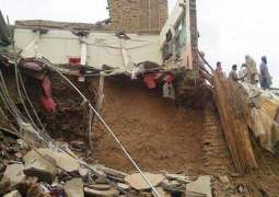 Two dead, five injured in roof collapse incident in capital