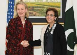 Top US diplomat Alice Wells arrives in Pakistan on second visit this month