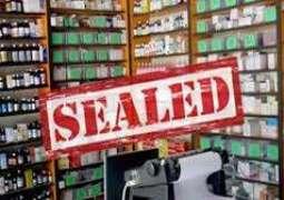 42 unregistered clinics sealed Sialkot