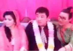 Friendship via Facebook: Chinese boy marries Pakistani girl in Sarghoda