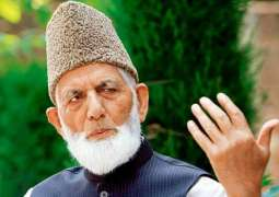 Syed Ali Gilani resents closing of private coaching centres