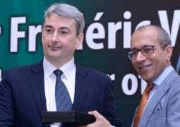 Belgium Ambassador to Pakistan Frederic Verheyden, Iftikhar discuss issues of mutual interest