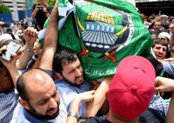 Body of assassinated Palestinian given emotional send-off